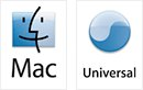 Mac Universal Binary logo