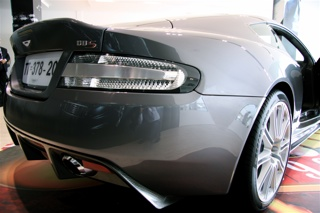 Aston Martin DBS in Dubai