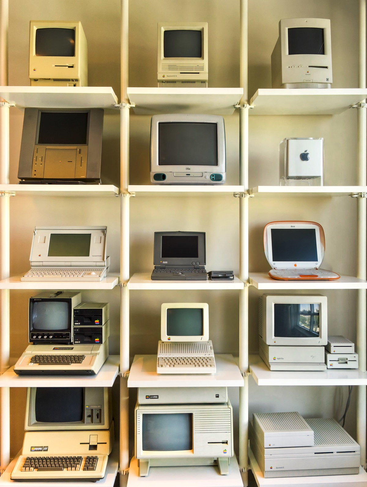 Jimmy Grewal's vintage Apple computer collection